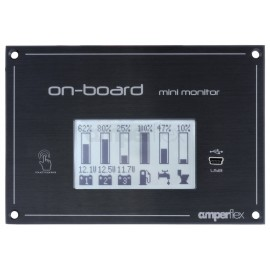 On-board mini monitor - Battery & Tank Monitor