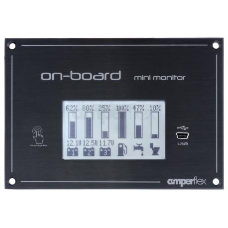 On-board mini monitor - Battery & Tank Monitor
