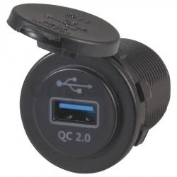 AF0893 gniazdo - ładowarka USB QC2.0