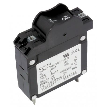 Bezpiecznik kołyskowy 5A DC