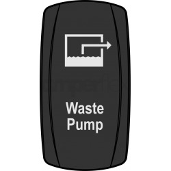 """Przycisk """"Waste Pump"""""""