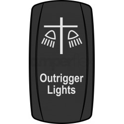 "Przycisk ""Outrigger Lights"""